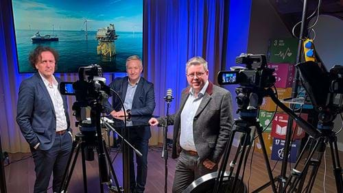 Daily TV broadcast from Stavanger Chamber of Commerce